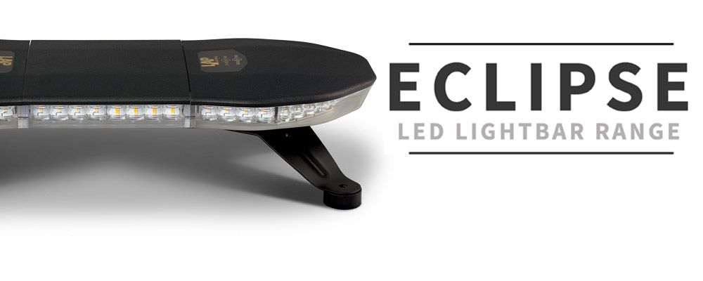 Our new R65 <a href='http://www.lapelec.co.uk/products/Lightbars/Eclipse_LED_Lightbars_(ECE_R65)'>Eclipse</a> LED Lightbars are available in 5 different lengths