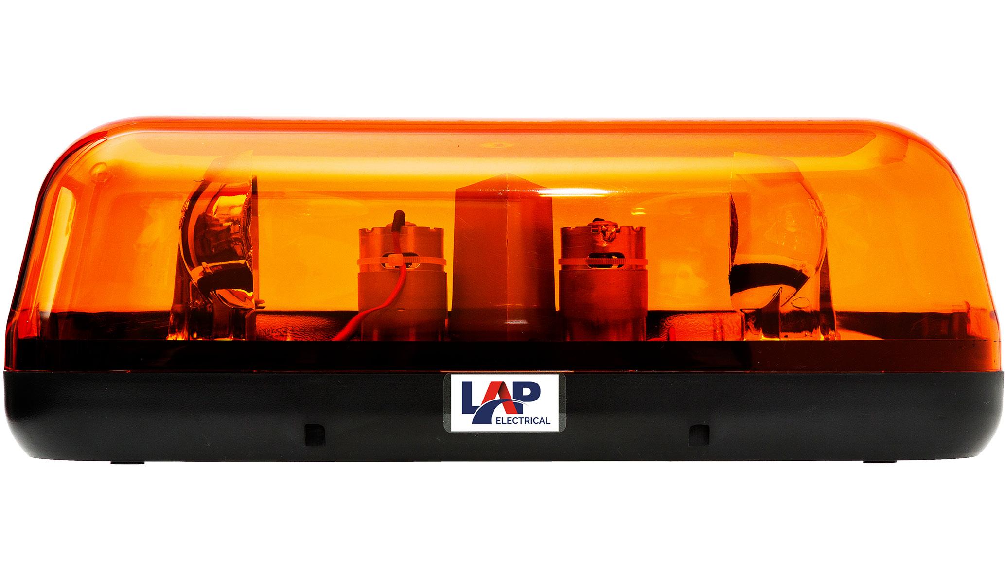 Compact Rotating Lightbars (ECE R65)