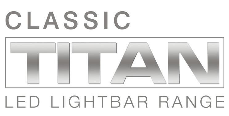 Classic TITAN LED Lightbars (ECE R65)