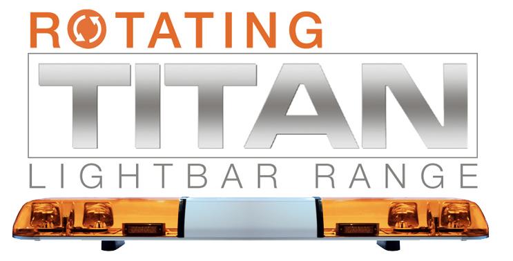 Rotating TITAN Lightbar (ECE R65)