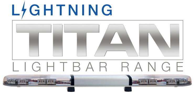 Lightning TITAN LED Lightbar (ECE R65)